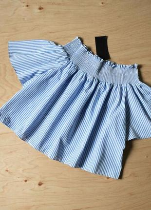Новая легкая блузка в полоску dishiki
