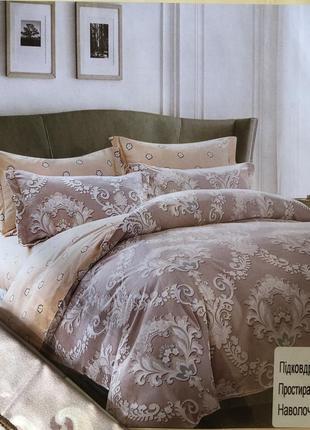 Комплект постельного белья из фланели евро размера