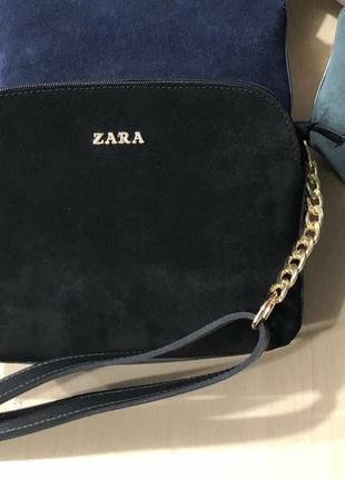 Качественная женская сумка с натуральной замшей