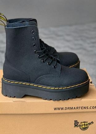 Ботинки dr. martens molly iridescent crackle platform boots