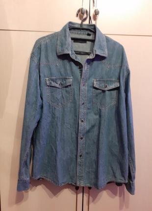 Рубашка джинсовая tcm