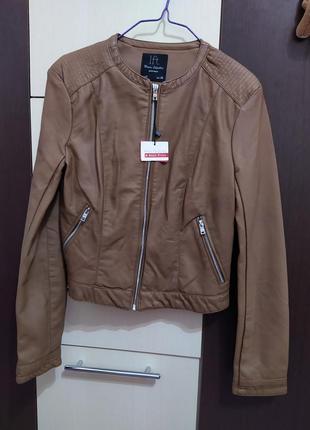 Куртка кожанка косуха женская