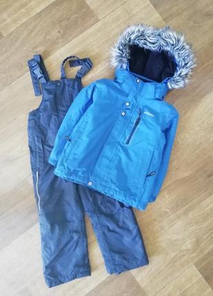 Зимний термо комбинезон, комбенизон, куртка, лыжная, мембранная, курточка, комплект
