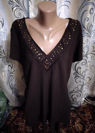 Очень красивая блуза на пышные формы evans