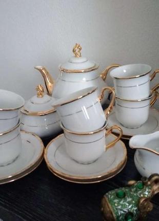 Сервиз чайный чехия оригинал
