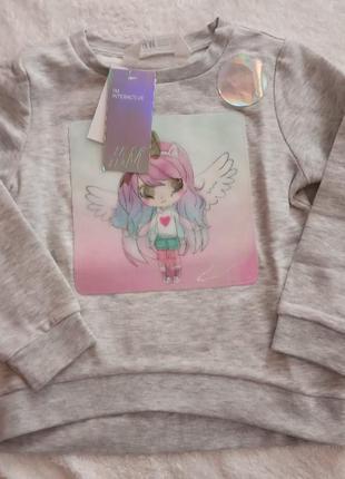 H&m кофта свитер 98/104