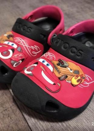 Кроксы crocs тачки