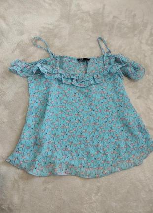Легкая блуза майка разлетайка