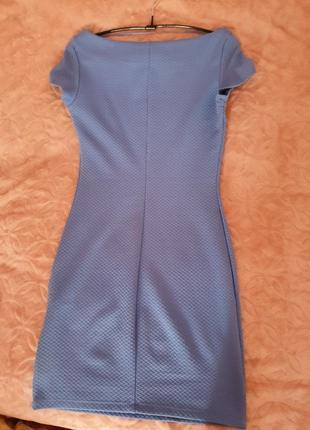 Платье мини по фигуре