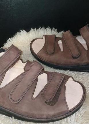 Finn comfort сандалі босоніжки ортопедичні  шкіряні