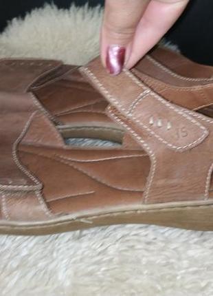 Josef seibel босоніжки шкіряні