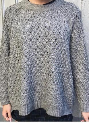 Оверсайз свитер от h&m
