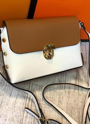 Кожаная женская сумка vera pelle