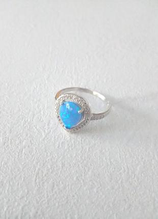 Кольцо, серебро 925 пробы