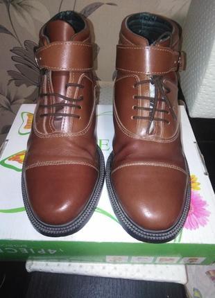 Осенние ботинки ultimo