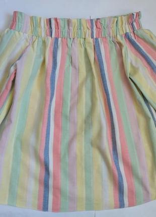 Блуза топ в полоску размер xs