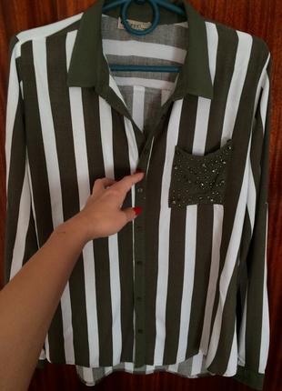 Рубашка сорочка блузка