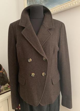 Пиджак max mara оригинал в стиле винтаж классика