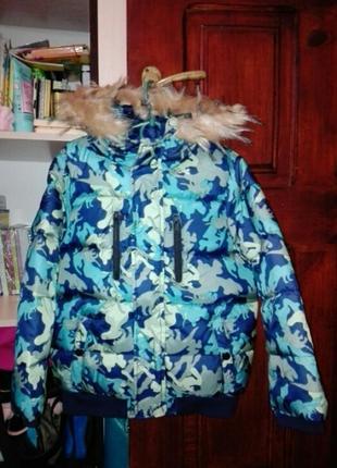 Продам новесеньку курточку на хлопчика європейська зима,виробник польща.