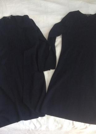 Brooks brothers  комплект двойка платье и кардиган из натуральной мериносовой шерсти