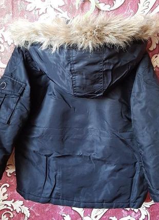Куртка демисезонная vintage  на 5-6 лет