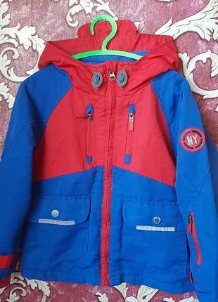 Куртка ветровка фирмы tu на 6 лет 116 см