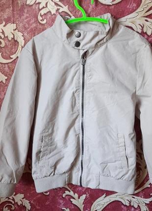 Легкая куртка ветровка dudes на 7 лет.