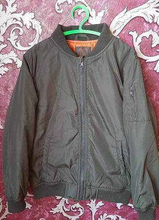 Куртка ветровка на мальчика 9 10 лет  rebel by primark