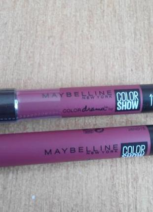 Помада-карандаш для губ maybelline new york