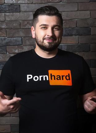 Оригинальная футболка мерч hard play