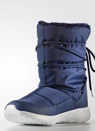 Женские сапоги adidas cloudfoam race winter aq1642