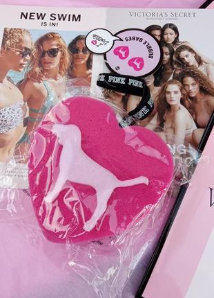 Яскрава губка victoria's secret pink