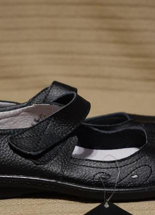Легчайшие мягенькие черные кожаные туфли classique франция 39 р.