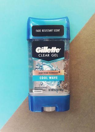 Гелевий дезодорант gillette