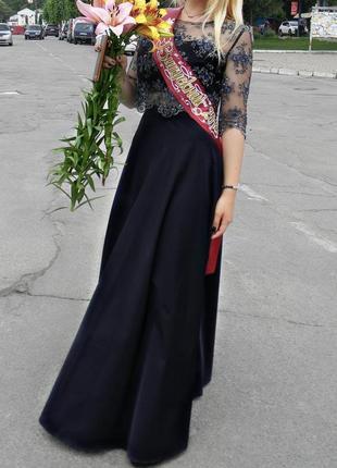 Выпускное или вечернее платье-комплект