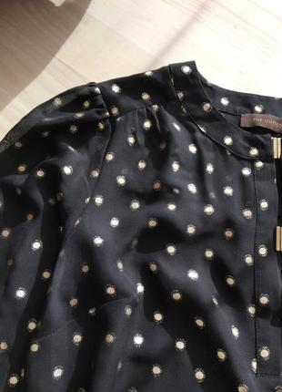 В наличии красивая кофта блуза блузка в горошек the limited