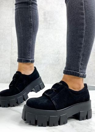Туфли замшевые, лоферы замшевые, оксфорды кожаные