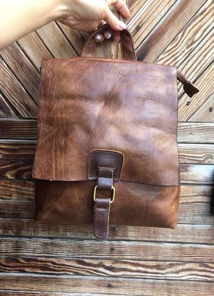 Классический рюкзак экокожа