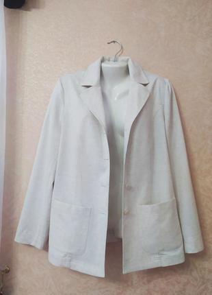 Ванильный пиджак