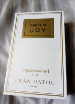 Jean patou joy parfum lux 10 ml духи винтаж слюда