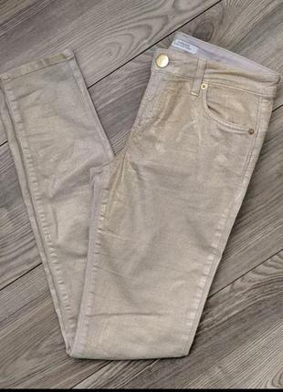 Брендовые джинсы брюки скинни