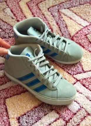 Кроссовки кеды высокие adidas