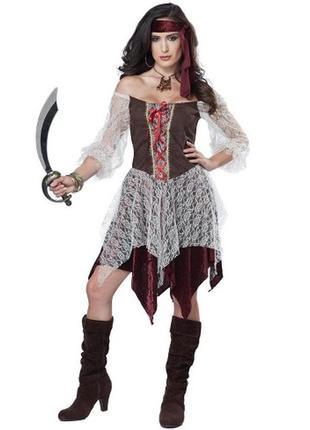 California costumes пиратка 44 костюм карнавальный