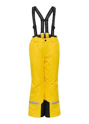 Детские зимние лыжные штаны, полукомбинезон lego wear р.122 reima, lenne