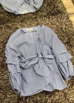 Рубашка блузка с длинным рукавом