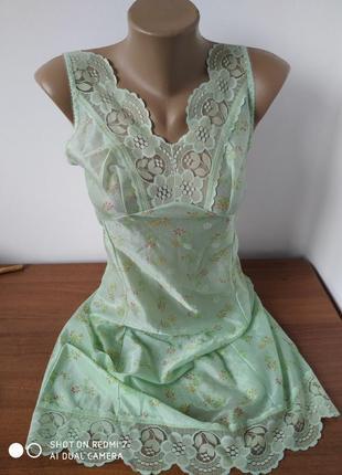 Плаття нижняя юбка ночник пижами топ розмір-38