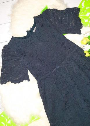 Красивенное кружевное платье 9л.134см.