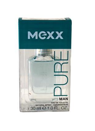 Мужская туалетная вода mexx pure for man. код п021