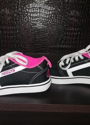 Брендовые кроссовки ролики heelys