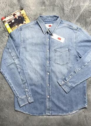 Рубашка мужская от tommy hilfiger, оригинал
